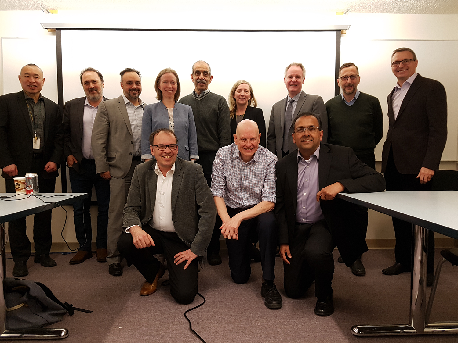 Photo: Initial Shared SOC meeting on April 11th 2018, at the University of Alberta.