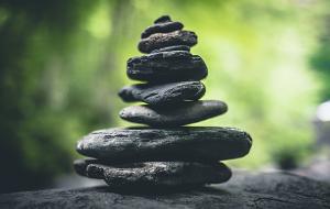 Zen stacking stones